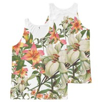 flower combo 300 All-Over-Print tank top
