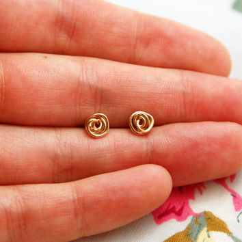 Stud earrings, tiny everyday studs, round studs, ball stud earrings, silver post earrings, simple post earrings, circle stud earrings
