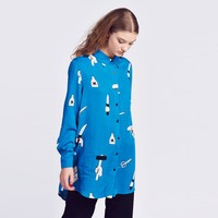 Lazy Oaf Psycho Killer Shirt - Shirts - Categories - Womens