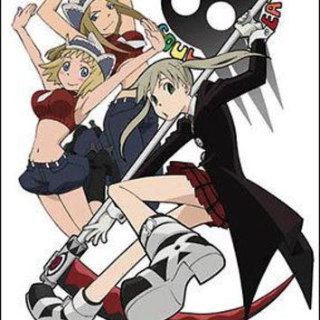 Girls of Soul Eater Anime Art WALL SCROLL Cloth Poster GE5328 BRAND NEW!!!