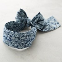 Indigo Filigree Headband by Anthropologie Blue Motif One Size Hair