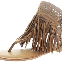 Not Rated Cosmic River Women's Fringe Boho Gladiator Sandals