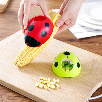 Set of 2 Corn Stripper With Hand Protecter