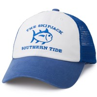 Skipjack Trucker Hat in Royal Blue by Southern Tide