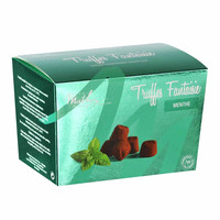 Mathez - Chocolate Truffle with Mint Crystals, 8.8 oz