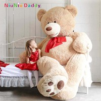 200cm Big Size USA Teddy Bear Large Bearskin Giant Bear
