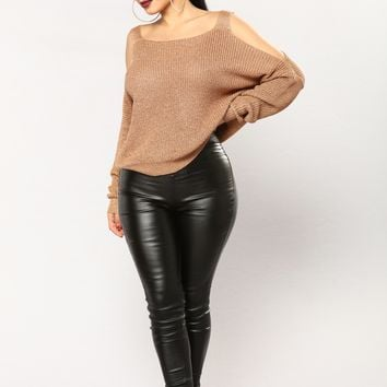 Right By My Side Sweater - Copper