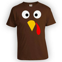 Funny Thanksgiving T Shirt Turkey Shirt Holiday Outfit Thanksgiving Turkey Costume Fall TShirt Turkey Day Gobble Mens Ladies Tee - SA847