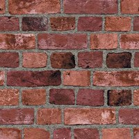 The Wallpaper Company 56 sq. ft. Red Brick Wallpaper-WC1281334 at The Home Depot