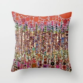 :: Sangria :: Throw Pillow by :: GaleStorm Artworks ::