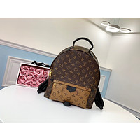 LV Louis Vuitton MONOGRAM CANVAS LARGE BACKPACK BAG