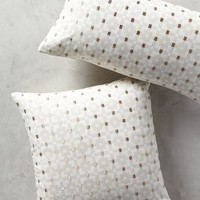 Geo-Block Pillow by Anthropologie