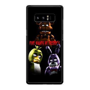 Five Nights At Freddy S 5 Samsung Galaxy Note 8 Case