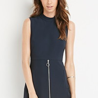 Zippered Sheath Dress