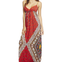 Gypsy Surplus Maxi Dress | Wet Seal