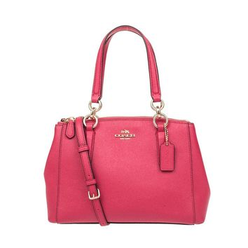 One-nice™ Coach Christie Carryall in Crossgrain Leather