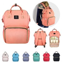 Waterproof Baby Diaper Nappy Backpack Multifunctional Large Changing Bag