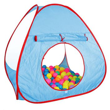 Foldable Children Kids Play Tents Outdoor Baby Ocean Ball Toy Tent Girl Outdoor House Kids Tent Baby Gift
