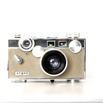 Vintage Argus  C3 Matchmatic Tan 1950s 35mm Film Camera | 50s Early Analog Cam, Photographer Gift, Photography, Retro