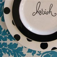 The Ellie Collection Salad Plate by aedrieloriginals on Etsy