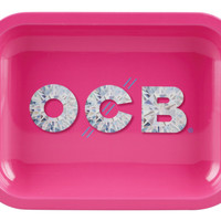 OCB Metal Rolling Tray - Diamond (Small)