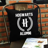 Hufflepuff quidditch throw pillow cover harry potter throw pillow cover