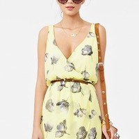 Fresh Cut Chiffon Dress in  Clothes at Nasty Gal