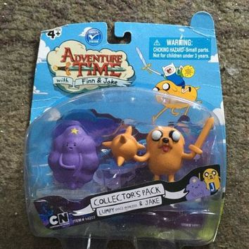 Lumpy Space Princess Jake Adventure Time Action Figure Sealed in Box Jazwares 2012