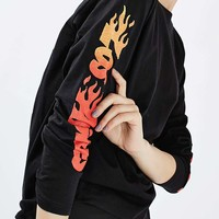 Flame Arm Graphic T-Shirt | Topshop