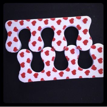 Pedicure toe separators