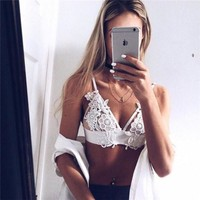 Women's Fashion Hot Sale Summer Sexy Lace Vest Strap [10357222541]