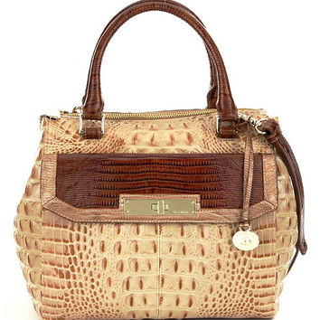 Brahmin Moscato Collection Malia Satchel | Dillards