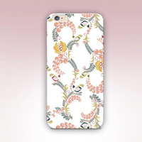 Flowers & Birds Phone Case- iPhone 6 Case - iPhone 5 Case - iPhone 4 Case - Samsung S4 Case - iPhone 5C - Tough Case - Matte Case - Samsung
