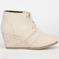 CITY CLASSIFIED Rex Womens Desert Wedges 236574426 | Heels & Wedges