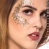 Face Glitter in Gold Lilith