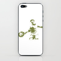 Roger Federer Wimbledon Tennis iPhone & iPod Skin by DanielBergerDesign