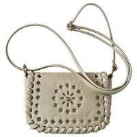 Mossimo Supply Co. Laser Cut Mini Crossbody Handbag - Gray