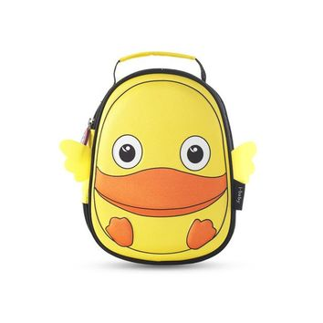 Toddler Backpack class i-baby 3D Animal Design Harnesses Baby Kids Leash Toddler Waterproof Backpack Leash with Safe Harness, Ages 1+, Duck, 2 colors AT_50_3