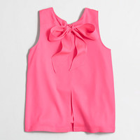 Factory bow-back top - Shirts & Tops - FactoryWomen's New Arrivals - J.Crew Factory