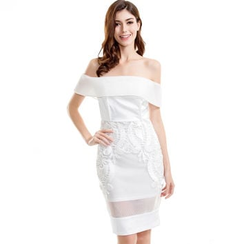 Sugar and Spice Bright White Dress