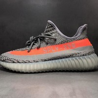 adidas Yeezy 350 V2 Grey/Orange