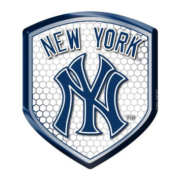 New York Yankees MLB Reflector Decal Auto Shield for Car Truck Mailbox Locker Sticker Baseball Licensed Team Logo