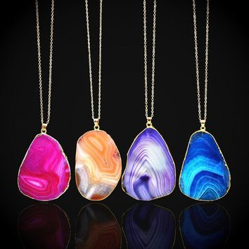 Jewelry New Arrival Shiny Gift Stylish Crystal Pendant Chain Sweater Necklace [186327040026]