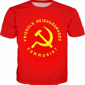 Friendly Neighbourhood Communist T-Shirt - Funny Communism