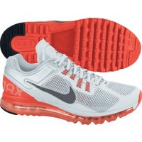 Nike Women's Air Max+ 2013 Running Shoe - White/Crimson | DICK'S Sporting Goods