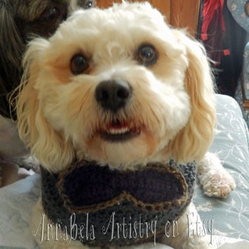 Crochet Dog Sweater: Medium 10% of sale will be donated to ResQPet