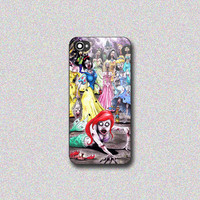 Princess Zombie - Print on Hard Cover for iPhone 4/4s, iPhone 5/5s, iPhone 5c - Choose the option in right side