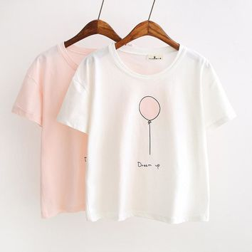 Women short sleeve T-shirt summer new fashion
