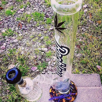 Water Pipe Cozy, Kushin™ Glass Bubbler Base Protection, Kush Gifts