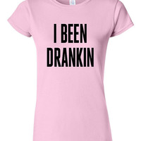 Drunk in Love Lyics T-shirt Tshirt Tee Shirt Funny I Been Drankin Hipster Gift Xmas Teenager Daughter Son Party College Concert Beer Humor
